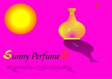 Parfum ensoleillé illustration libre de droits