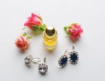 Parfum et diamants Photo libre de droits