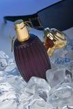 Parfum et glaces photographie stock libre de droits