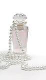 Parfum et perles Photos libres de droits
