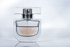 Parfum flaska Arkivfoto