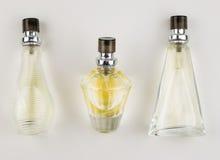 Parfum sur le fond blanc Images libres de droits