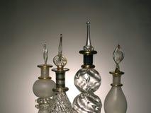 parfume Египета бутылки драматическое восточное светлое Стоковое Изображение RF