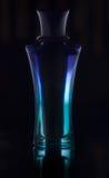 Parfume azul Imagen de archivo libre de regalías