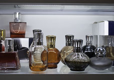 Parfume bottles Royalty Free Stock Photo