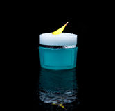 Parfume, cream, fresh, water, movement, cosmetic Royalty Free Stock Photography