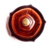 parfume för flaskbrownögonkast Fotografering för Bildbyråer