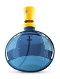 parfume för flaskexponeringsglas Arkivbilder