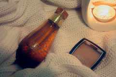 Parfume luxuoso Yves Rocher foto de stock