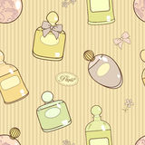 Parfume pattern Stock Images
