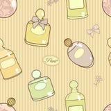 Parfume pattern Stock Images