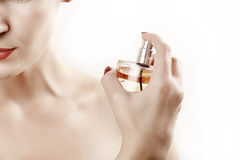Parfume spray Royalty Free Stock Photo