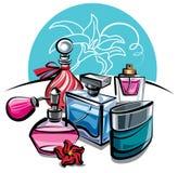 parfumes Fotos de archivo