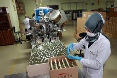 Parfumfabriek in Turkije Stock Fotografie