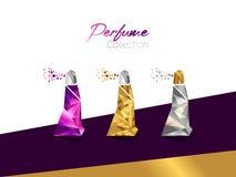 Parfuminzameling Royalty-vrije Stock Afbeelding