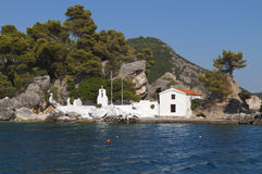 Parga bay in Greece Stock Image