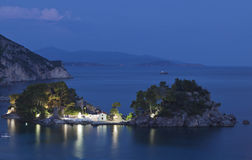 Parga bay in Greece Royalty Free Stock Image