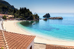 Parga Beach Royalty Free Stock Image