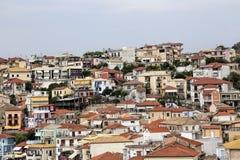 Parga city, greece Royalty Free Stock Images