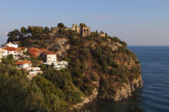 Parga city in Greece Royalty Free Stock Photos