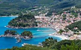 Parga Grèce Photo stock