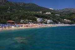 Parga Grèce Photos libres de droits