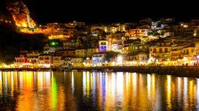 Parga, Grécia Fotografia de Stock