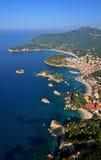 Parga Grecia Imagen de archivo libre de regalías