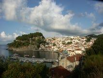 Parga - Grecia Foto de archivo libre de regalías