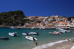 Parga Greece Royalty Free Stock Image
