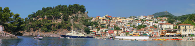 Parga Greece Stock Photos