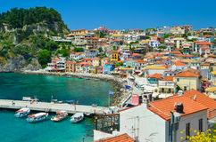 Parga royalty free stock photo