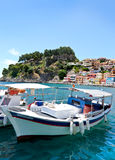 Parga Greece Stock Photo