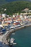 Parga Greece tourist destination Stock Photos