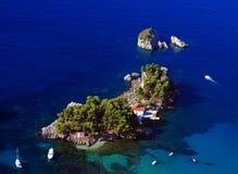 Parga Griechenland Lizenzfreie Stockbilder