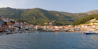 Parga, Griekenland Royalty-vrije Stock Foto's