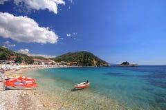 Parga Griekenland Stock Afbeelding