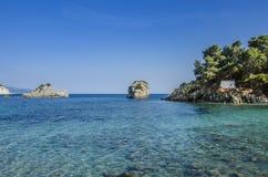 Parga, Prevesa, isola di Panagia - della Grecia immagini stock libere da diritti