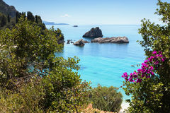 Parga seaside Royalty Free Stock Photos