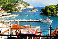 Parga - tourist resort in Greece Stock Photo