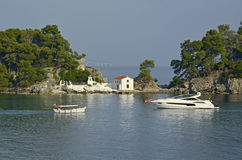 Parga tourist resort in Greece Stock Images