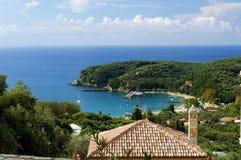Parga - tourist resort in Greece Stock Photo