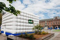 Pari-mutuel urbain Ausflug für bevorstehende Fußball-Meisterschaft in Stra Stockfotografie