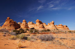 Paria峡谷银朱的峭壁原野,亚利桑那,美国 免版税图库摄影