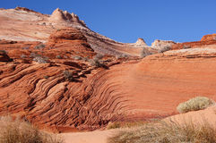 Paria峡谷银朱的峭壁原野,亚利桑那,美国 库存图片