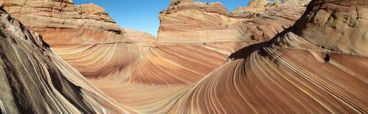 Paria峡谷,银朱的峭壁,亚利桑那 库存图片
