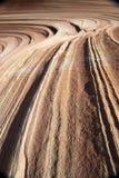 Paria峡谷,银朱的峭壁,亚利桑那 图库摄影