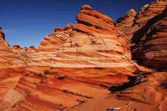 Paria Kanjon-cinnoberfärger klippor vildmark, Arizona, USA Royaltyfri Foto
