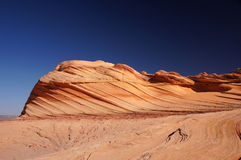 Paria Kanjon-cinnoberfärger klippor vildmark, Arizona, USA Arkivfoton
