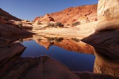 Paria-Schlucht-Zinnoberrot-Klippen Wildnis, Arizona, USA Lizenzfreies Stockbild